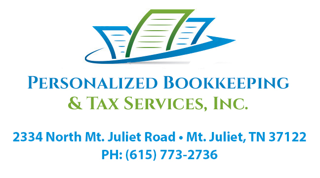 Personalized Bookkeeping logo
